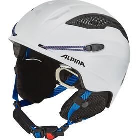 Alpina Snow Tour Helmet white-blue matt